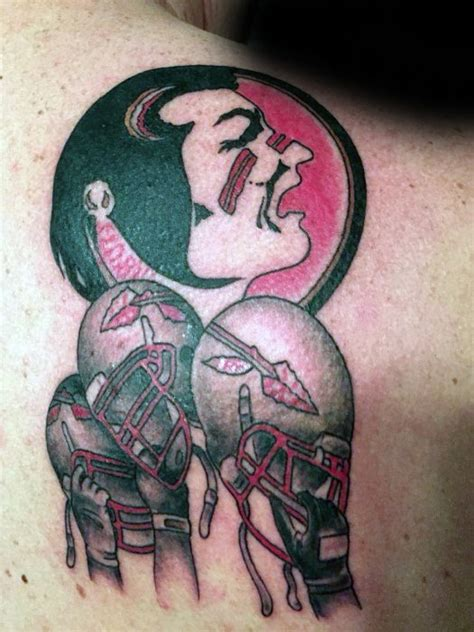 state college tattoo 30 fsu tattoos for florida state design ideas