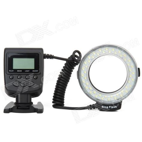 Led Ring Flash Hl 48 Baru buy hl 48 1 6 quot lcd 48 led macro ring flash for nikon