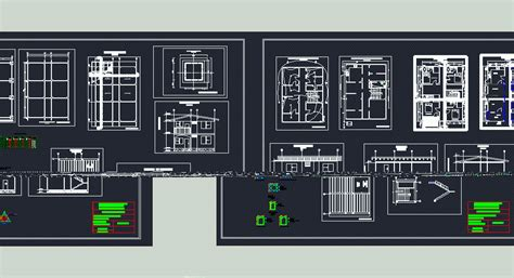house plan dwg two storey house 2d dwg plan for autocad designscad