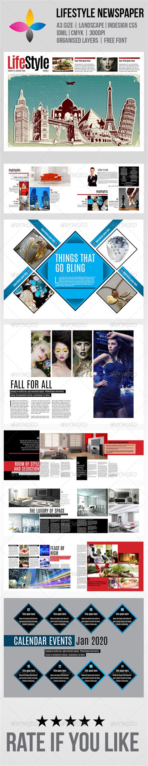 layout tabloid download free indesign tabloid newspaper template downloads