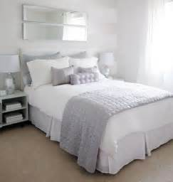 white and lavender bedding contemporary bedroom