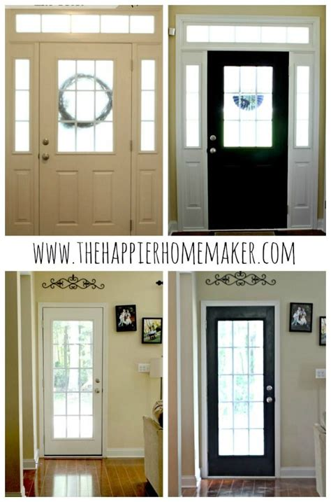 Painting Interior Doors Black Before And After Painting Interior Doors Black Why That Makes Them Pop