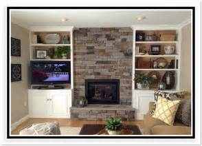 Bookshelves Next To Fireplace Built In Bookcases Around A Fireplace Home Design Ideas