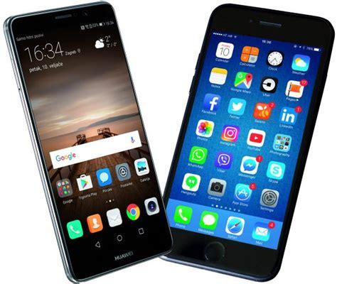 huawei mate 9 vs apple iphone 7 plus