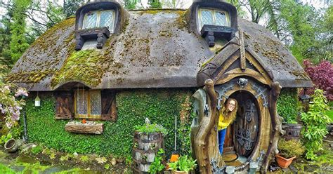 real hobbit house imagines the fantastical book into