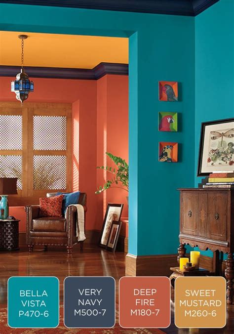 mood enhancing colors home design