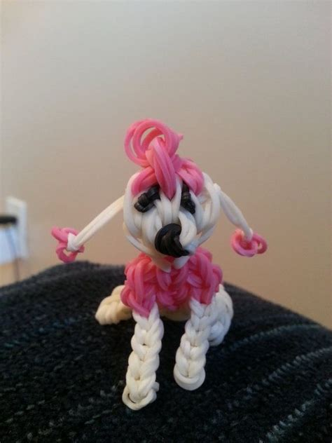 poodle rubber st 49 best loom images on rainbow loom charms