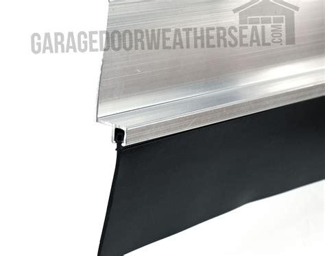 garage door edge seal garage door retainer 3 inch offset garage door weather seal