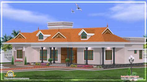 kerala home design youtube house plans kerala style single floor youtube