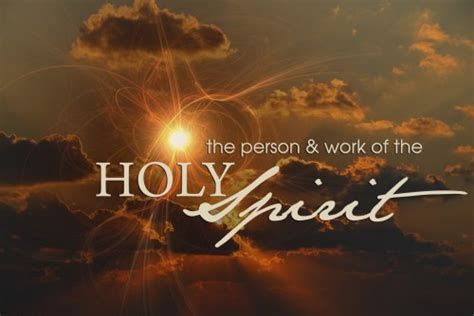 the person and work of the holy spirit books the person work of the holy spirit 187 orchard park bible
