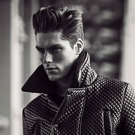 teddy boy hairstyle trendy and cool hairstyles for the modern man