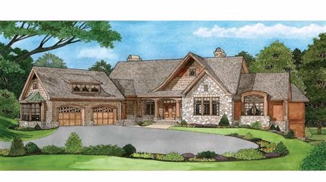 Ranch House Plans Walkout Basement Simple Ranch Style House Plans With Walkout Basement