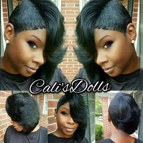 black hair 27 piece with sidebob 17 beste idee 235 n over 27 piece hairstyles op pinterest