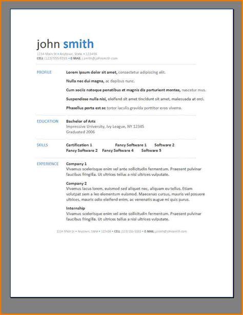 Contemporary Resume Template Free contemporary resume templates thebridgesummit co
