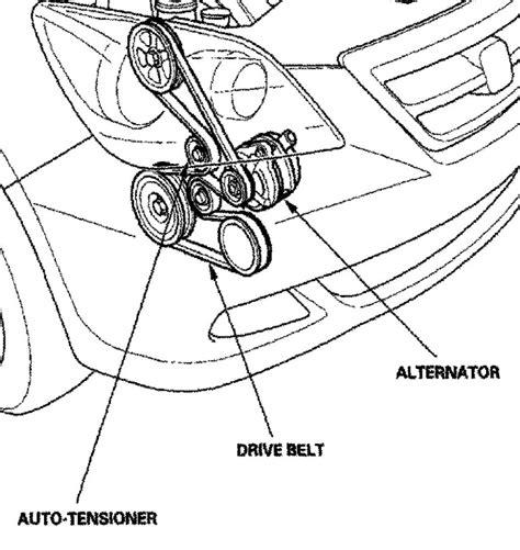 2007 honda pilot serpentine belt diagram serpentine belt honda odyssey 2007 best cars modified