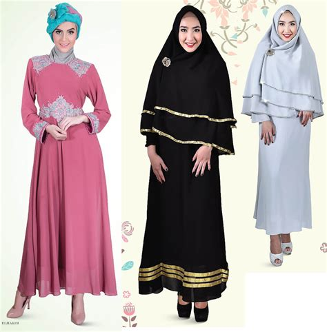 Malica Maxi kausar shop gamis muslimah