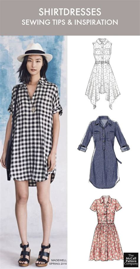Dress Pattern 147 best images about shirtdress patterns on