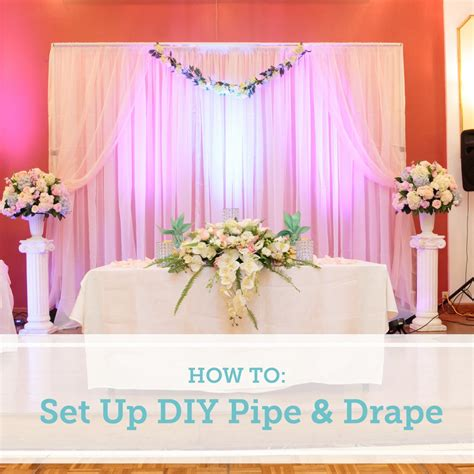 homemade pipe and drape best wedding backdrop ideas for reception images styles