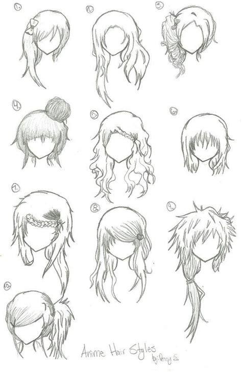 manga girl hairstyles by inasyasyasya art stuff anime curly hairstyles for girls anime hair anime
