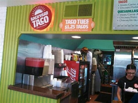 backyard tacos menu backyard taco mesa restaurant reviews phone number photos tripadvisor