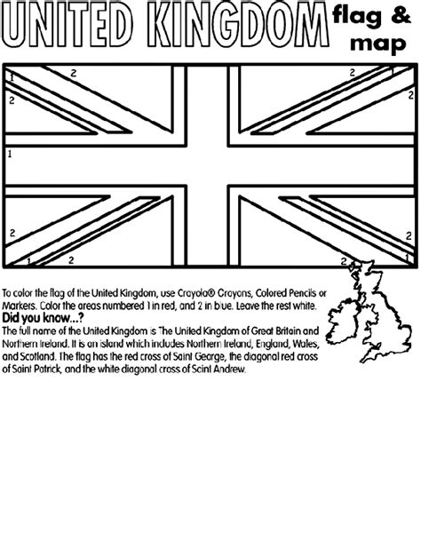 coloring pages uk united kingdom coloring page crayola