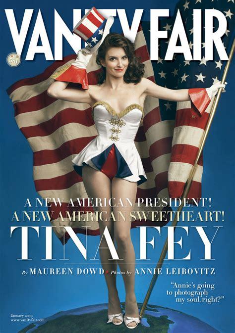 tina fey vanity fair magazine january 2009 cover photo