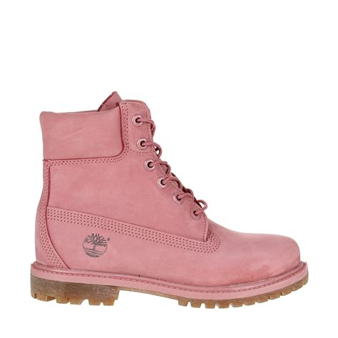 boots timberland timberland 6 inch premium boot in pink lyst