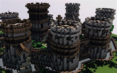old castle minecraft project