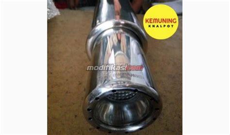 Knalpot Racing Mobil Gronel Panjang Racing Custom Muffler Gronel Racing Muffler Kemuning Knalpot