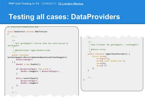 tutorial php unit test php unit testing in yii