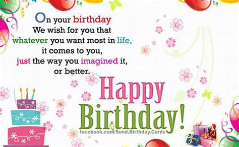 We Want To Wish You A Happy Birthday Birthday Cards On Your Birthday We Wish For You