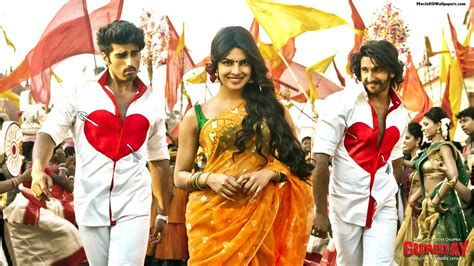 gunday film priyanka chopra ki gunday 2013 movie hd wallpapers