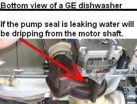 Leaking Dishwasher Underneath Dishwasher Leaking Repair Guide