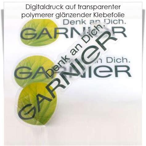 Folien Aufkleber Durchsichtig by Digitaldruck Auf Transparenter Polymerer Klebefolie