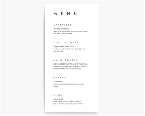 modern menu template 16 modern menu designs design trends premium psd