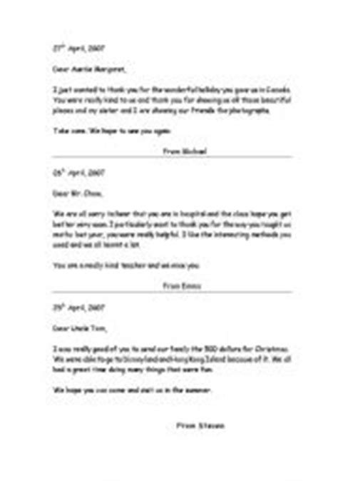 Thank You Letter Ks2 Informal Letter Exles Ks2 New Calendar Template Site