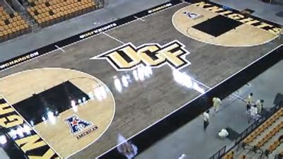 Boston Bruins Bedroom ucf unveils new blacktop style basketball court video