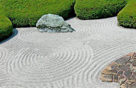 Rock Zen Garden Japanese Garden