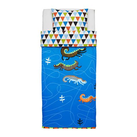 Ikea Bantal Bunga Anak drakdjur sarung kuilt dan sarung bantal ikea