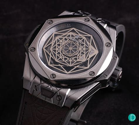 review hublot big bang sang bleu
