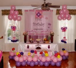 Home Decor Party by Balloon Decoration Ideas For 1st Birthday Party