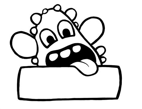 Name Tag Coloring Pages free name tag coloring pages