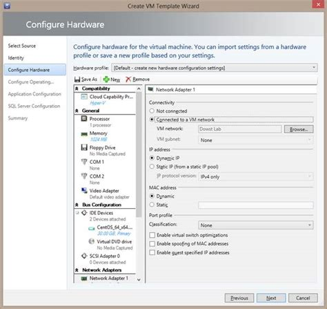 creating a linux vm template in vmm 2012 r2 part 4