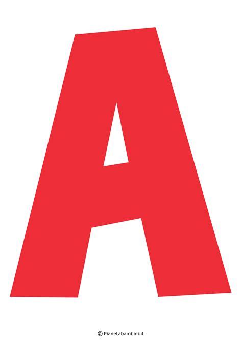 di lettere lettere dell alfabeto colorate e grandi da stare