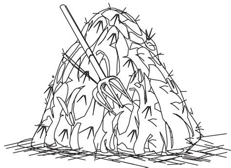 hay stack clipart clipart suggest
