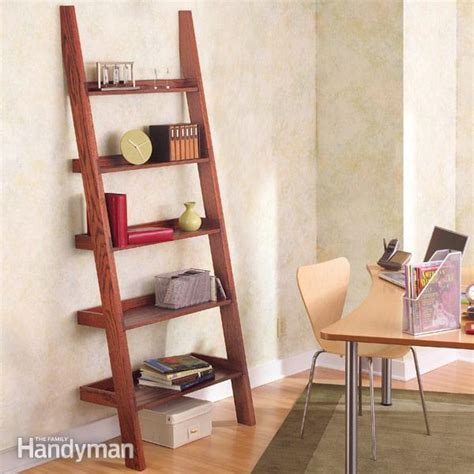 pdf diy diy leaning bookshelf plans diy network