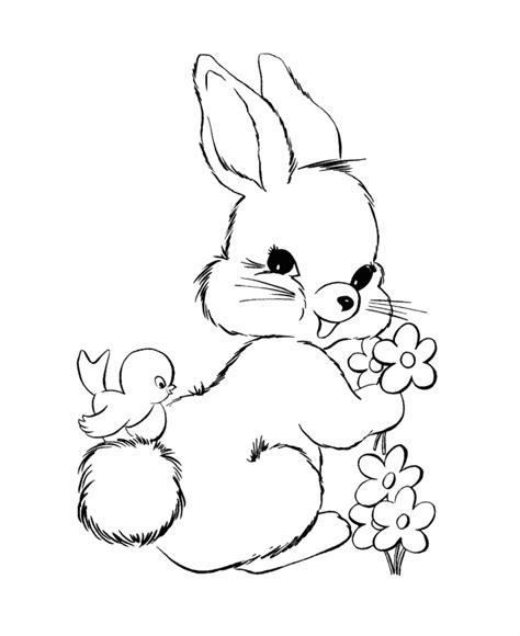 baby bunny coloring pages coloring home