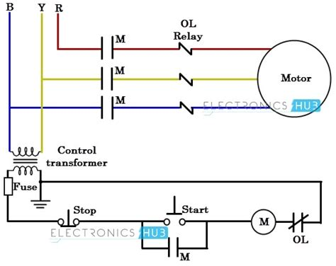 2 phase motor wiring diagram wiring diagrams