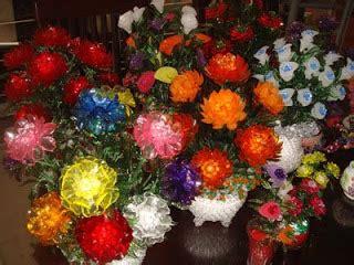 Bros Akrilik Mute 1 besthappycraft rangkaian bunga dari manik manik akrilik