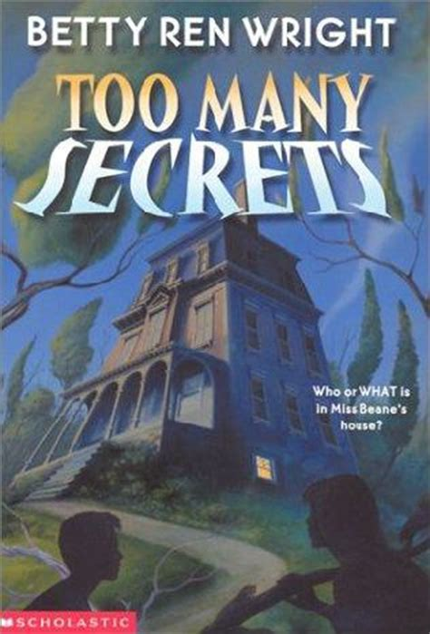 the wright secret books many secrets by betty ren wright